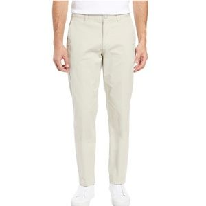 BONOBOS Athletic Fit Stretch Washed Chinos Wheat